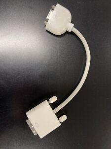 Genuine OEM Apple/Mac DVI to VGA Adapter Cable