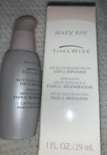 Mary Kay TimeWise Microdermabrasion Step 2 Replenish 1 Fl Oz, New - Old Stock