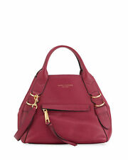 Marc Jacobs The Anchor Small Leather Tote, Berry NWT $425 Plus Tax