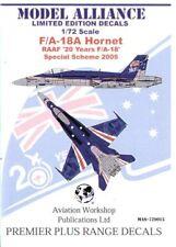 Model Alliance 1/72 McDonnell-Douglas F/A-18A Hornet # 729015