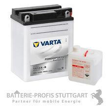 Varta batterie moto lnstitulscientifique 12a-b 12v 12ah incl. flacon d'électrolyte 512015012