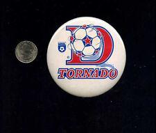vintage  NASL Dallas Tornado Pro Soccer button pinback badge