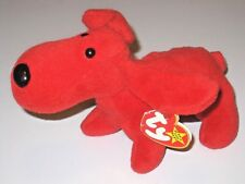 Ty Beanie Babies Baby Rover The Red Dog PVC Pellets 1996 Style 4101