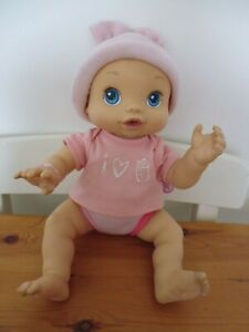 """BABY ALIVE VINYL DOLL 2006 WET N WIGGLES ANATOMICALLY CORRECT 13"""""""