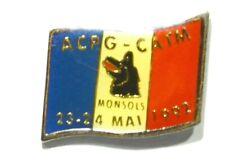 PINS ARMEE ACPG-CATM ANCIENS COMBATTANTS MONSOLS 69 RHONE LOUP