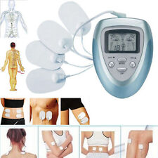 Blue Full Body Slimming Massager Electronic Pulse Relax Therapy Fitness Machine