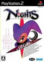USED PS2 PlayStation 2 nights into dreams Normal Edition 32025 JAPAN IMPORT