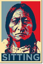 Sitting Bull Art Print 'Hope' - Photo Poster Gift