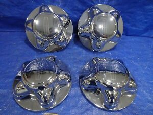 "98-02 LINCOLN NAVIGATOR 16"" WHEEL CENTER CAPs HUB COVERs  12 MM SET OF 4 nc"