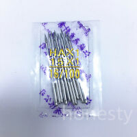 10/50PCS Threading Singer Sewing Machine Needles 75/11 80/12 90/14 100/16 110/18