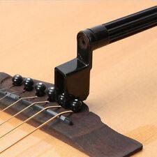 Good Plastic Acoustic Electric Guitar String Winder Peg Bridge Pin Tool Black