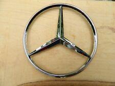 Mercedes Benz Badge Logo Emblem 115mm- Plastic / 3 hole
