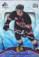 09-10 SP Authentic Jonathan Toews Holo View Holo Blackhawks 2009