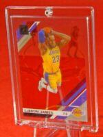 Clearly Donruss LeBron James LA Lakers Jersey Fantastic Rare Purple Acetate SP🔥