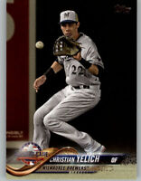 (15) Christian Yelich 2018 Topps Update BASE CARD LOT (x15) Brewers AllStar US27
