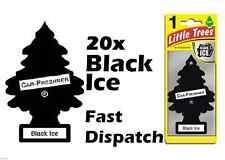 "MAGIC TREE""LITTLE TREE"" BLACK ICE FRAGRANCE CAR AIR FRESHENER PACK OF 20"