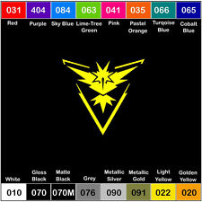 TEAM INSTINCT Symbol Car Window Laptop Vinyl Decal Sticker Pokémon Pokemon Go