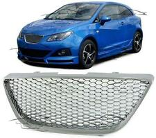 FRONT CHROME GRILL FOR SEAT IBIZA 6J 08-12 SPORT NO EMBLEM BODY KIT NEW