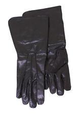 Battle Merchant Stulpenhandschuhe Schwarz Lederhandschuhe Handschuhe Gothic M-XL