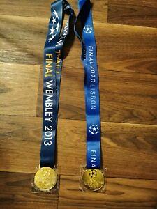 Champions League Sieger Medaille 2013 2020 München Fußball Deutschlan Bayern DFB