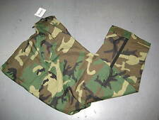 US ARMY ECWCS WOODLAND CAMO GORETEX TROUSERS LARGE REGULAR 8415-01-228-1349