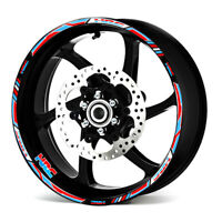 Fit For Honda Racing HRC  #style 1 motorcycle wheel sticker Stripes Sticker