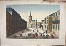 Auxerre : Vue de la Tour de l'horloge à Auxerre départnt de l'Yonne (19e)