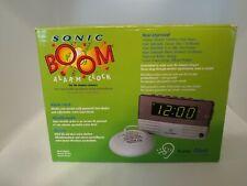 Sonic Boom Alarm Clock with Bed Super Shaker/Vibrator Sa-Sb200Ss