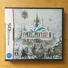 Nintendo DS Final Fantasy III Japan (NEW)