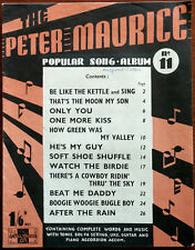 Peter Maurice Popular Song Album 11 One More Kiss, After The Rain etc. Pub. 1943