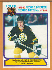 1980-81 , OPC , O-PEE-CHEE , RAY BOURQUE , CARD #2