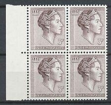 Luxemburg 646 postfris blok van vier (1)