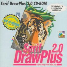 Vintage Serif DrawPlus v2.0g Graphic Design and Editor Tools, Windows 3.1 and 95