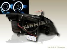 05 06 07 Ford Focus ZX4 Projector Headlights Halo CCFL Black
