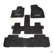Black Carpet Floor Mats Set 7P Genuine PT9264814120 for Toyota Highlander 14-18