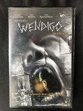 Wendigo Ex-Rental Vintage Big Box VHS Tape English with dutch subs Horror