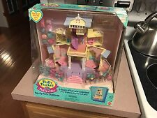 ***1995 POLLY POCKET BLUEBIRD CLUBHOUSE POP-UP PARTY PLAY HOUSE 100% COMPLETE***