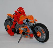 LEGO Hero Factory Furno Bike (7158) Complete Figure _ Free Shipping in USA