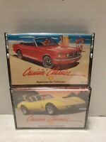 Cruisin Classics Vol. 4 and 5 Cassette Tapes 1960s-1980s Music
