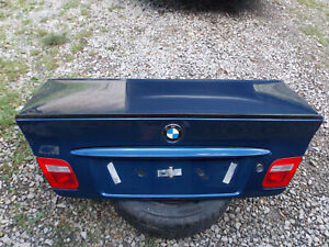 BMW E46 Ci Coupe Facelift Heckklappe Kofferraum Klappe Spoiler