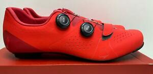 NEW Specialized Body Geometry TORCH 3.0 Road bicycle SHOES 46 Rocket Red