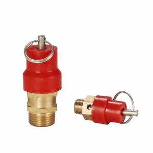 "Air Compressor Pressure Safety Relief Valve 1/4"" BSP 8 BAR 116 PSi Exhaust valve"