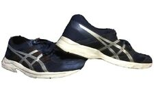ASICS Gel Contend 4 Men's 12 Blue Running Training Jogging Shoes - Silver Red