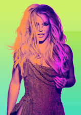 BRITNEY SPEARS Poster Print A5..A4 A3...A2 option 260gsm