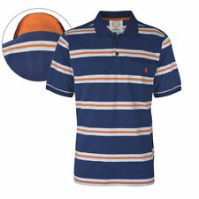 Striped 100% Cotton Short Sleeve Casual Shirts for Men