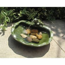 Ceramic Solar Garden & Patio Fountains
