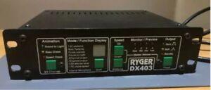Vintage Ryger Sound Light Controller Chaser Disco Bulgin Switchable 3/4 CH