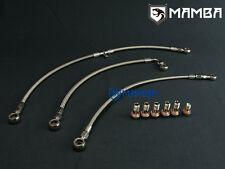 SAAB 9000 B202 B204 B234L GT28R GT30R ball bearing Turbo Oil & Water Line Kit