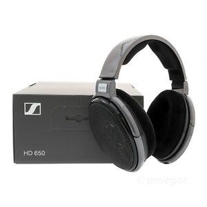 Sennheiser HD650 Open-Back Over-Ear Audiophile Headphones (Latest Version)