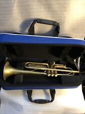 SPRING DEAL MARTIN THE INDIANA Bb TRUMPET JAZZ RAW BRASS &GATOR BAG GREAT PLAYER